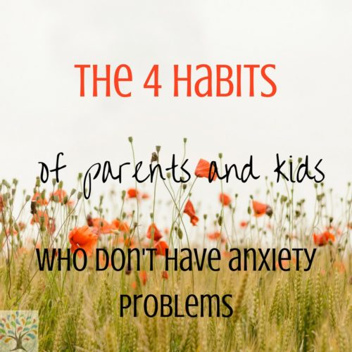 flowers 4 habits of anxiety
